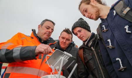 Could drones be the next big tool for construction workers? Students at SA1 Swansea Waterfront have been finding out.