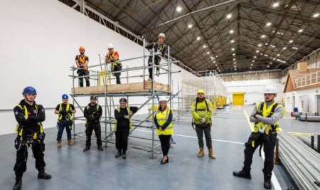 New £1.5m Wales Scaffolding Academy achieves industry accreditation